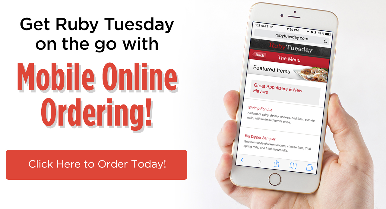 Click to try Mobile Online Ordering today!